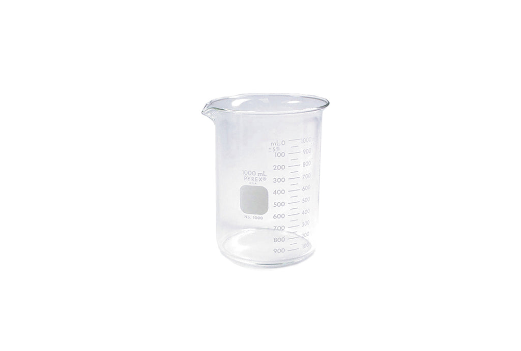 Pyrex Beaker, 1000 ml, Item No. 45.641