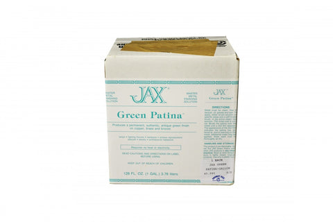 Jax Green Patina        Gallon, Item No. 45.940