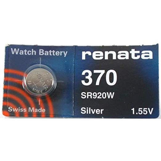 Renata 370 Battery. Pack of 10