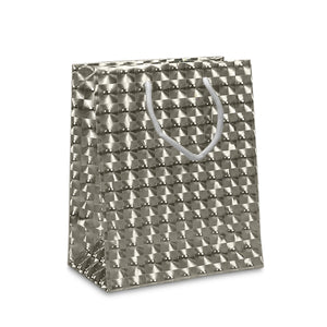 Silver 3-D Lens Small & Medium Totes Pack of 10
