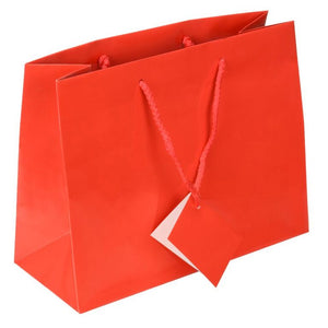Medium Totes Glossy Red Box of 10