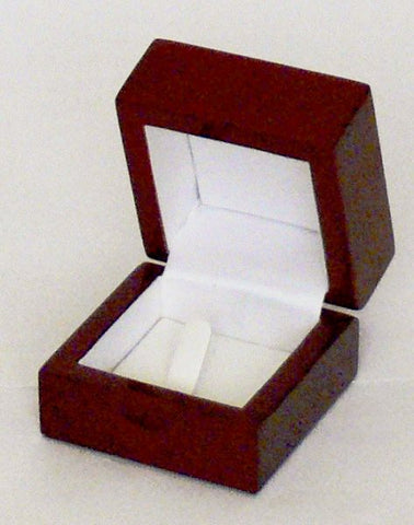 Redwood Ring box with Clip Box of 12