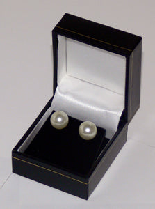 Classic Leatherette-look Small Earring boxes Box of 24