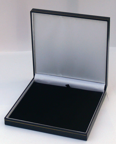 Classic Leatherette-look Necklace boxes   Box of 12