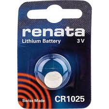 Renata 1025 Battery. Pack of 10