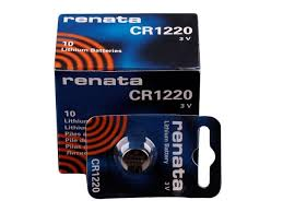 Renata 1220 Battery. Pack of 10