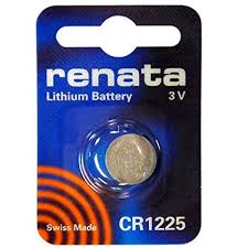 Renata 1225 Battery. Pack of 10