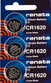 Renata 1620 Battery. Pack of 10