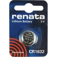 Renata 1632 Battery. Pack of 10