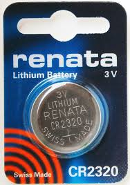 Renata 2320 Battery. Pack of 10