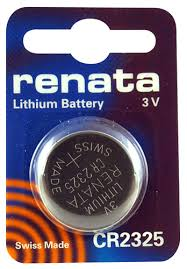 Renata 2325 Battery. Pack of 10