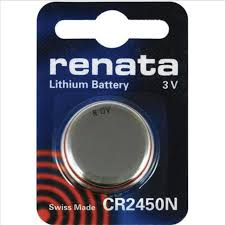 Renata 2450 Battery. Pack of 10