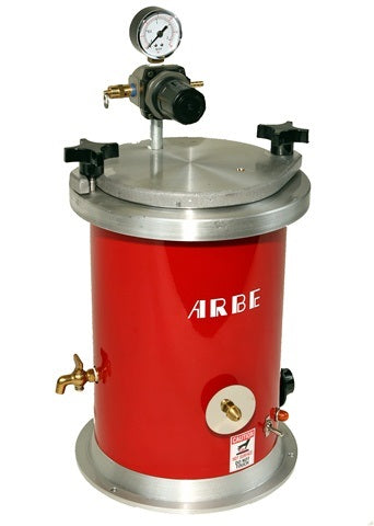 Arbe 4 Qt. Wax Injector with Heated Nozzle