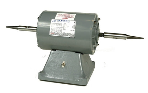 Arbe 1/2HP Double Spindle Pro-Series Polishing Motor