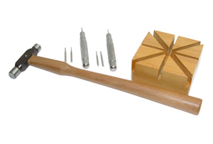 Bracelet Pin Removing Kit with Wooden Holder, Item No. RM 59055
