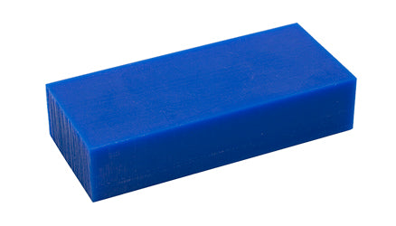 CARVING WAX BLUE (MED- HARD) 1 LB. BLOCK