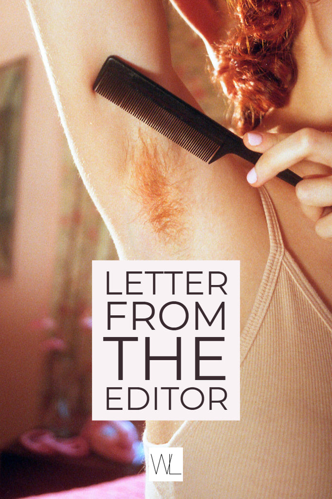 Letter from the Editor -  August 2018
