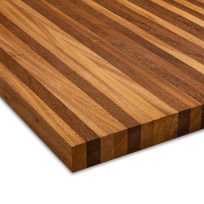 Mahogany Butcher Block 3/4""