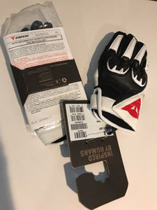 Dainese Women's Mig C2 Gloves Black/White/Black Size Small