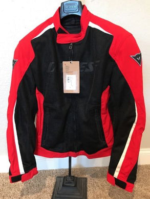 Dainese Hydra Flux D-Dry Jacket Red/White 50 EU / 40 US