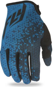 Fly Racing Lite Gloves Blue/Grey 3XL