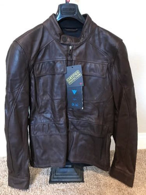 Dainese Richard Leather Jacket Dark Brown *various sizes