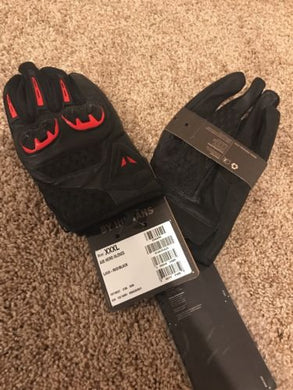 Dainese Air Hero Gloves Red/Black Size 3XL / 10.5