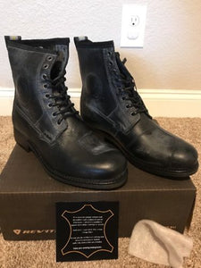REV'IT! Rodeo Boots Black Size 43 Euro / 10 US