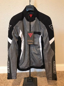 Dainese Women's Air Crono Mesh Jacket Anthracite/Black/White 46 EU / 14 US / Med