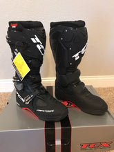 TCX Comp EVO Michelin Black Offroad Motorcycle Boots Size 12 US/46 Euro