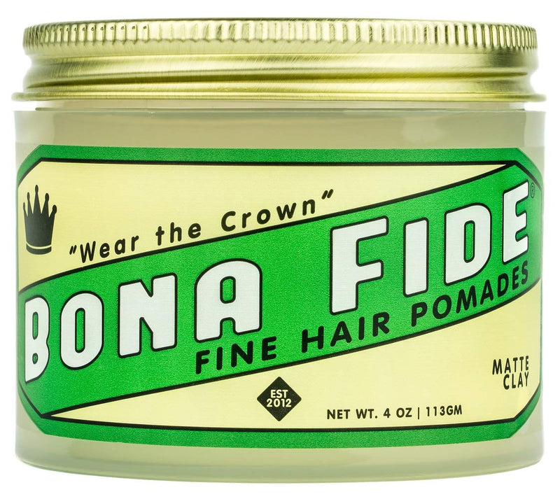 Matte Clay Pomade - 4 oz.