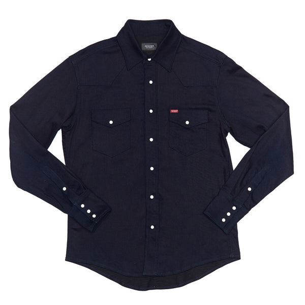 Rogers Shirt Jacket - Midnight Blue