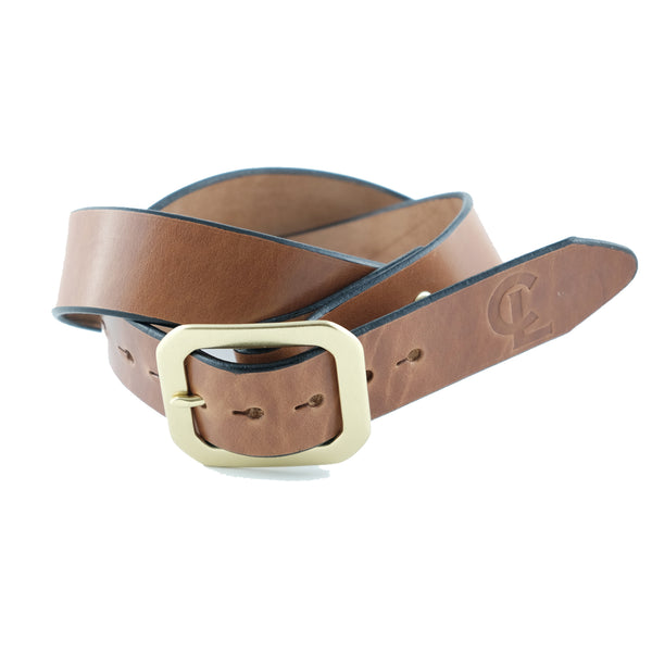 Classic Belt - Buck Brown
