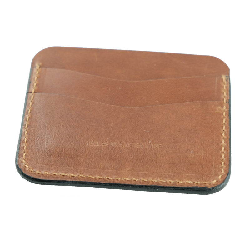 Slim Wallet - Buck Brown