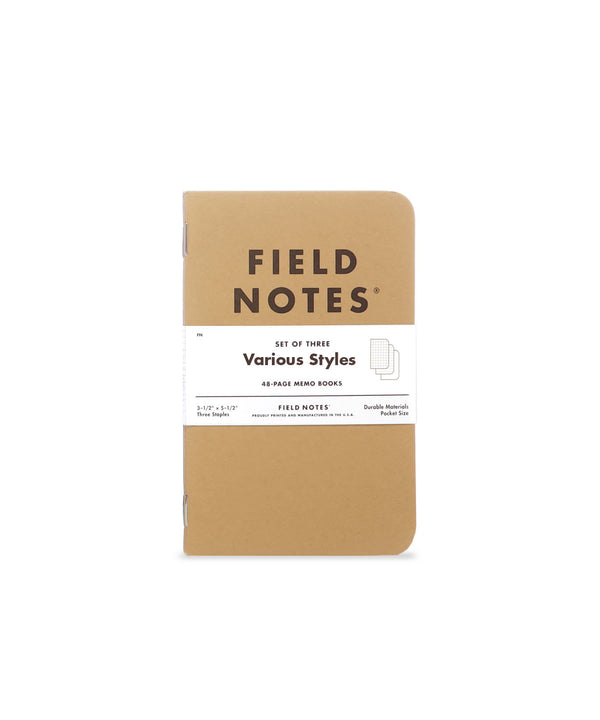 Original Kraft Memo Book - 3 Pack