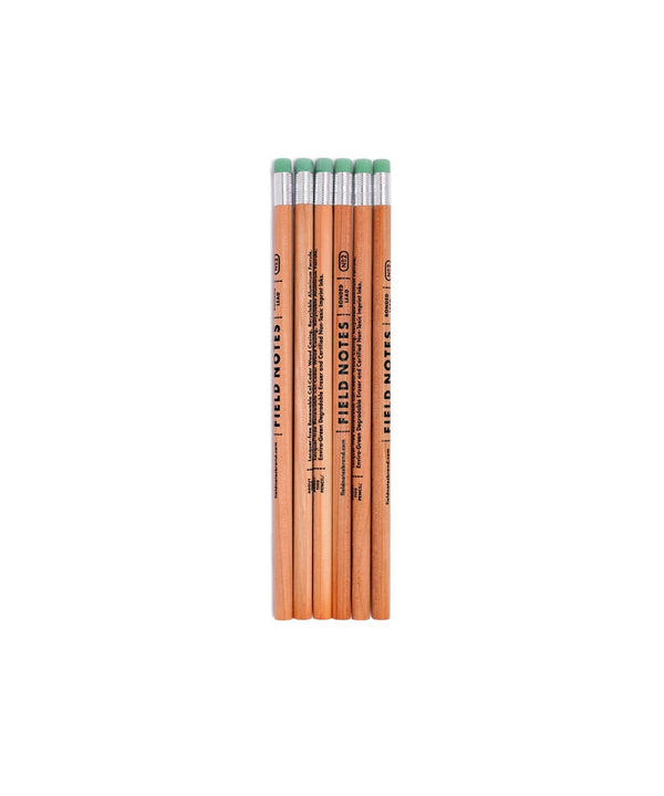 No. 2 Woodgrain Pencil - 6 Pack