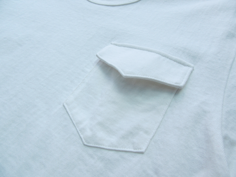 Loopwheel Pocket Tee - White