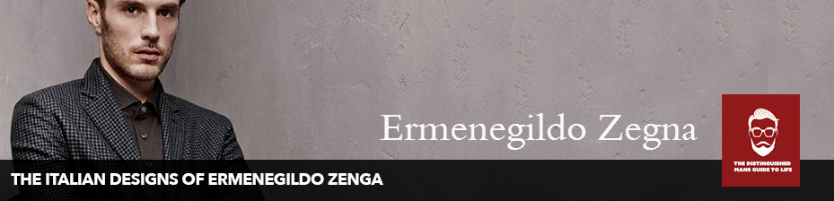 The Italian Designs of Ermenegildo Zenga Featuring the Zenga Tie