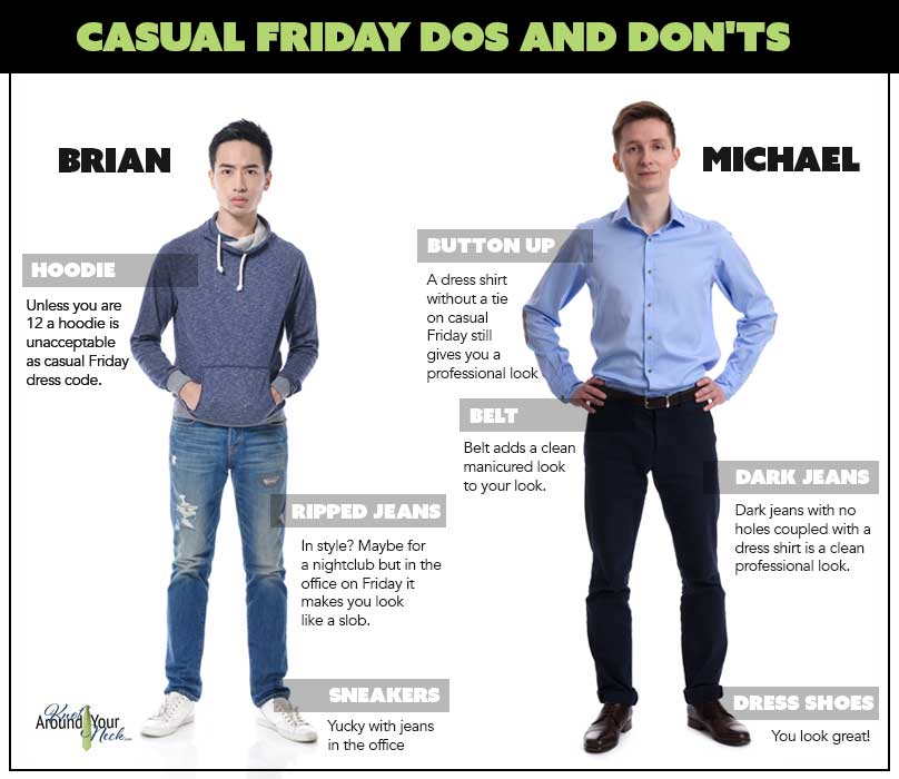 431e26ea8d88 The Complete Men's Guide To Dressing On Casual Friday