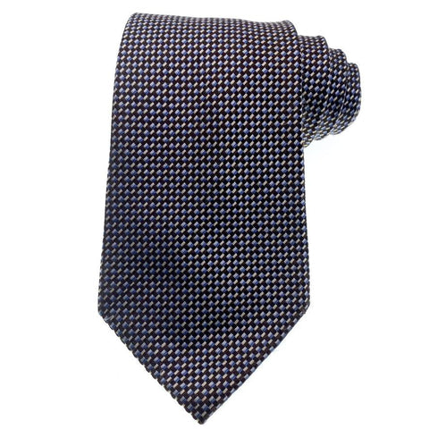 Geoffrey Beene Tie Multi-Color Check Pattern