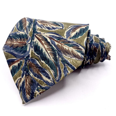 Alfani Tie Silk Multi-Color Tropical Pattern