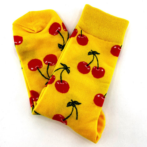 Socks Cherry By The Man Who Has It All