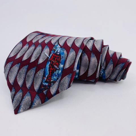 Novel Ties Museum Boutique Geometric Pattern