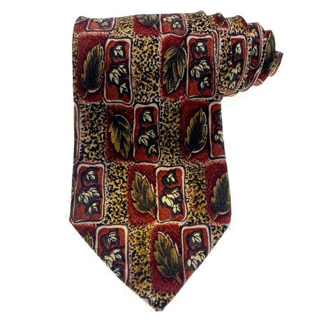 Lafayette Tie Multi-Color Abstract Pattern
