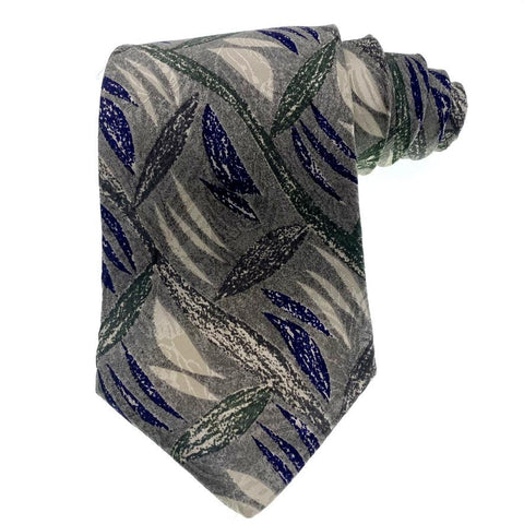 Alfani Tie Silk Abstract Pattern