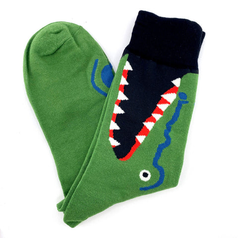 Socks Alligator By The Man Who Has It All