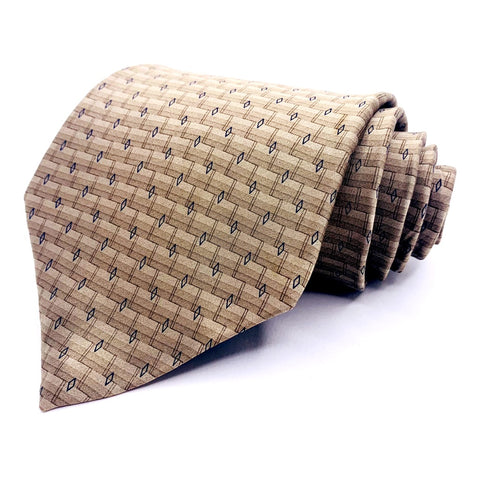 Jones New York Tie Geometric Pattern