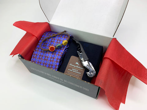 "Neiman Marcus Tie Gift Box ""The Man Who Has It All"" The Man Who Has It All Gift Box"