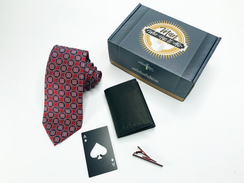 "Tasso Elba Tie Gift Box ""The Man Who Has It All"" The Man Who Has It All Gift Box"