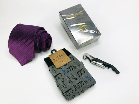 "Nicole Miller Tie Gift Box ""The Man Who Has It All"" The Man Who Has It All Gift Box"